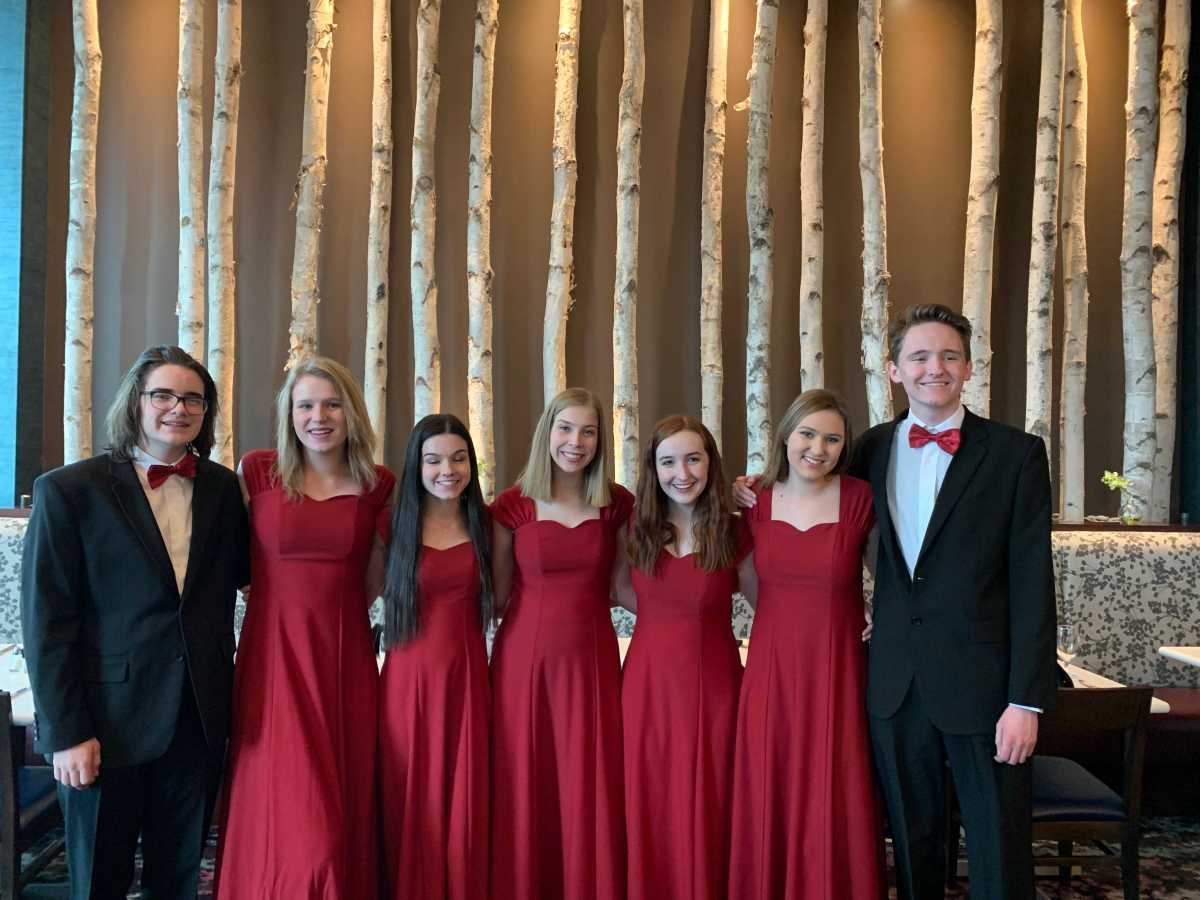 The Voice of 'The Angel,' Regis Jesuit Canta Belles at All State Choir
